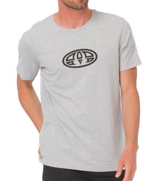 ANIMAL MENS T SHIRT.NEW LISTER COTTON GREY CREW SHORT SLEEVED TOP TEE 8W 5 103